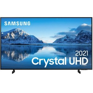 Samsung Smart TV 60' Crystal UHD 4K WI-FI Preto