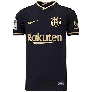 Camisa de Time Barcelona II Preta Masculina
