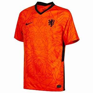Camisa de Time Holanda I Laranja Masculina