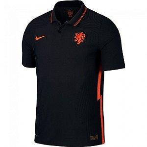 Camisa de Time Holanda II Preta Masculina