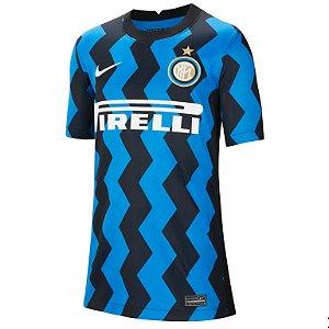 Camisa de Time Inter de Milao I Azul Masculina