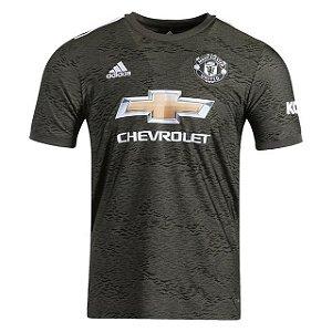 Camisa de Time Manchester United II Preta Masculina