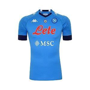 Camisa de TIme Napoli I Azul Masculina