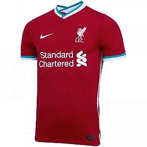 Camisa de Time Liverpool I Vermelha Masculina
