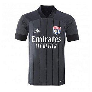 Camisa de Time Lyon II Preta Masculina