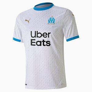 Camisa de Time Olympique de Marseille I Branca Masculina