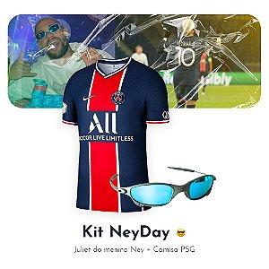 Kit NeyDay - Camisa Neymar PSG + Juju do Ney