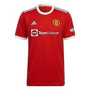 Camisa de Time Manchester United I Vermelha Masculina