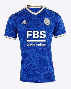 Camisa de Time Leicester I Azul Masculina 2022