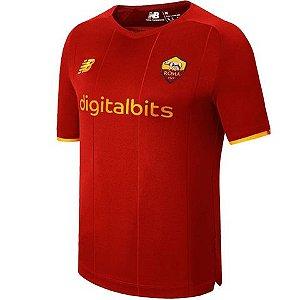 Camisa de Time Roma I Vermelha Masculina 2022