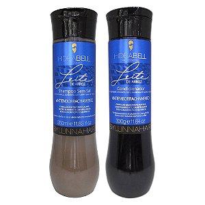 Shampoo e Condicionador Leite de Arroz Antiemborrachamento Hidrabell