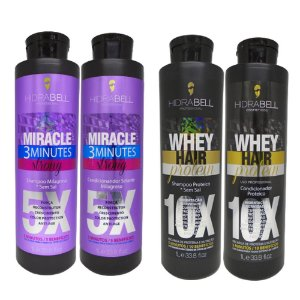 Combo Miracle e Whey Hidrabell