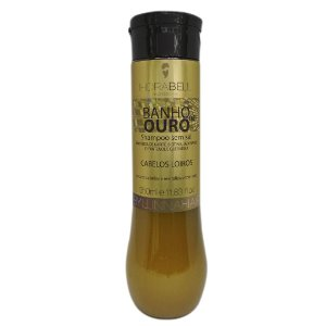 Shampoo Banho de Ouro 300ml Hidrabell