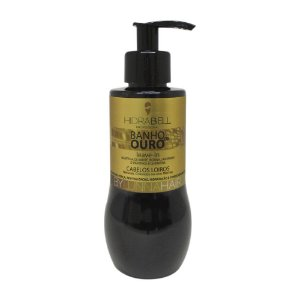 Leave-in - Creme de Pentear Banho de Ouro 200g Hidrabell