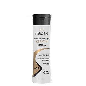 Shampoo Restaurador  Natucare Keratin  NatuMaxx 300ml