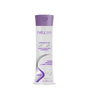 Shampoo Natucare Iluminação da Cor Anti-Yellow NatuMaxx 300ml