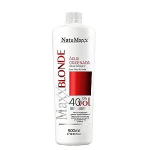 Água Oxigenada MaxxBLONDE 40 Vol NatuMaxx  900ml