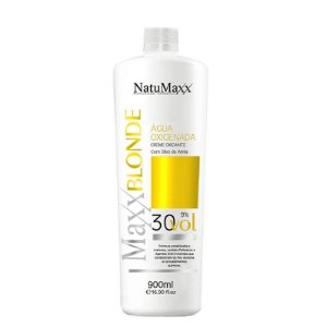 Água Oxigenada Ox MaxxBLONDE 30 Vol NatuMaxx 900ml