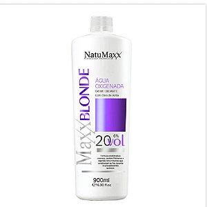 Água Oxigenada Ox MaxxBLONDE 20 Vol NatuMaxx 900ml