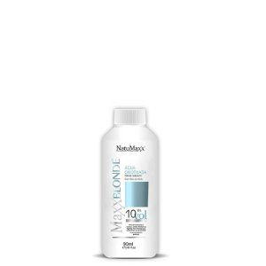 Água Oxigenada Ox MaxxBLONDE 10 Vol  NatuMaxx  90ml
