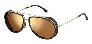 Óculos de sol Carrera 166/S J5G 59K1-Tortoise/Gold
