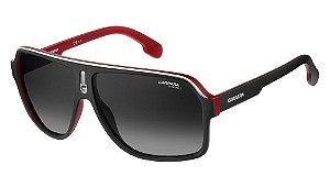 Óculos de sol Carrera 1001/S BLX 629O - Preto/Vermelho