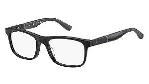 Óculos de grau Tommy Hilfiger TH 1282 KUN 5217 - Preto