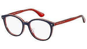 Óculos de grau Tommy Hilfiger TH1552 OTG 5117-Blue/Red