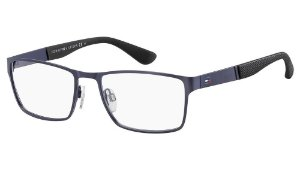 Óculos de grau Tommy Hilfiger TH 1543 PJP 5618 - Azul
