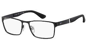 Óculos de grau Tommy Hilfiger TH 1543 003 5618 - Preto
