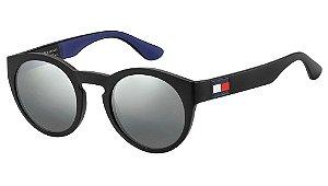 Óculos de sol Tommy Hilfiger TH 1555/S D51 49T4 - Preto
