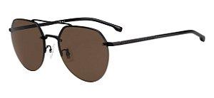 Óculos de sol Hugo Boss 1142/F/S 003 5970-Preto/Marrom