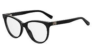 Óculos de grau Love Moschino MOL521 807 5516 - Preto
