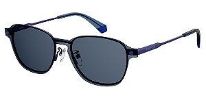 Óculos de grau Polaroid PLD6119/G/CS PJP53C3-Clipon-Azul