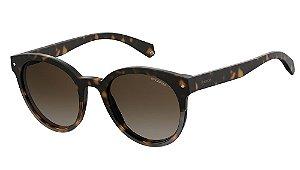 Óculos de sol Polaroid PLD6043/S 086 51LA Tortoise