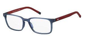 Óculos de grau Tommy Hilfiger TH1786 WIR 5438 Azul/Vermelho