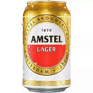 Cerveja Holandesa Amstel lata 350ml