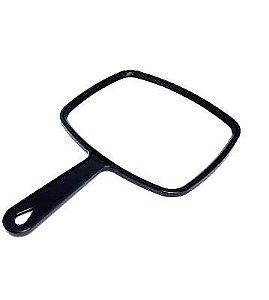 Espelho de mão Plástico Black 12cm