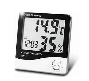 Higrômetro Medidor de Temperatura e Umidade Alongamento de Cílios