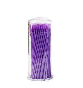 Microbrush Lilás Pote 100un