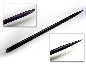 Palito Aplicador de Henna, tintura e depilação para sobrancelhas Preto