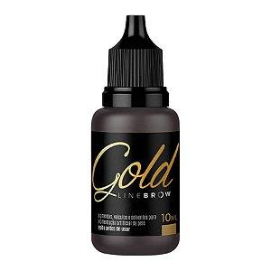 Pigmento Mag Color Gold Line Brow 10ml Escurissimo