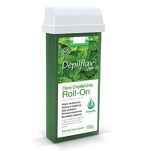 Cera Depilatória Depilflax Roll-On Hortelã