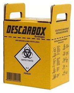 Coletor de Materiais Perfurocortante 3L Descarbox
