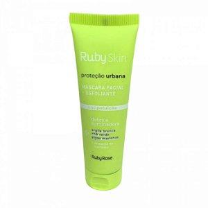 Máscara Facial + Esfoliante Proteção Urbana - Ruby Skin Ruby Rose