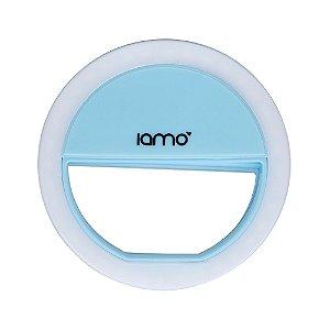 Selfie Ring Light P/ Celular Iamo (Azul)