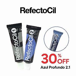 Refectocil n.1 - Preto + n.2 Preto Azulado + 30% OFF Refectocil n.2.1 - Azul Profundo