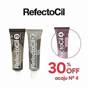 Refectocil n.3.1 Castanho Claro + n.3 Castanho Natural + 30% OFF Refectocil n.4. Acaju