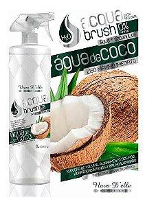 Oferta Escova H2o Acqua Brush Coco Nova Delle 1l Sem Formol