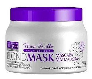 Oferta Matizador Blond Mask Violeta Desamarelador 500g Nova Delle